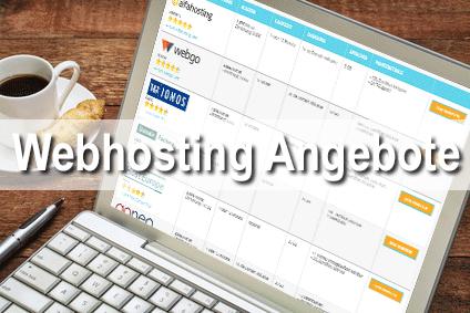 1und1 Webhosting Angebote