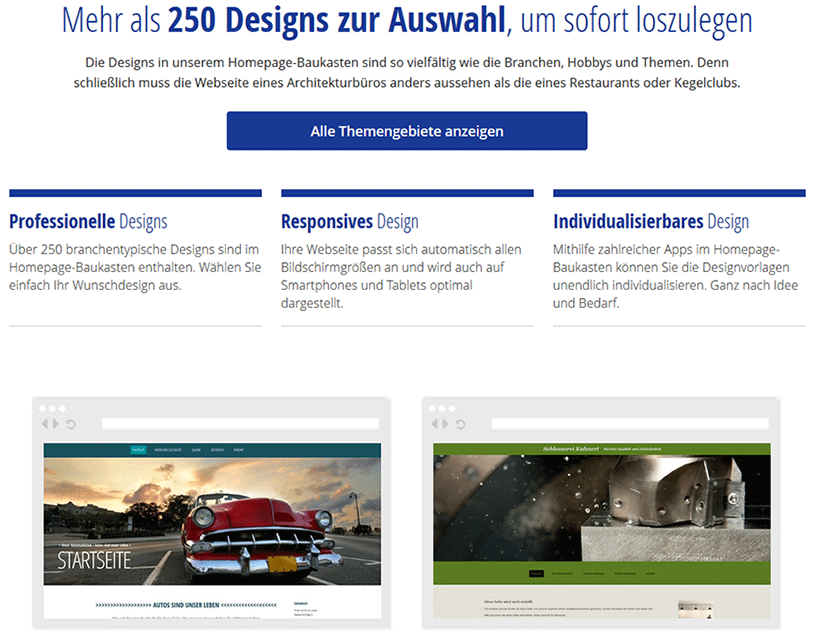 Alfahosting Homepage