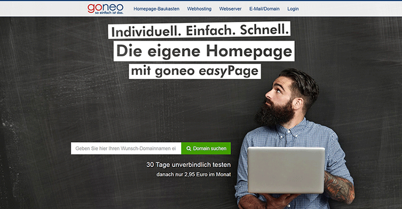 Goneo easyPage