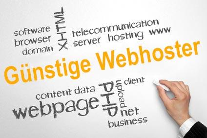 Günstige Webhoster vergleichen