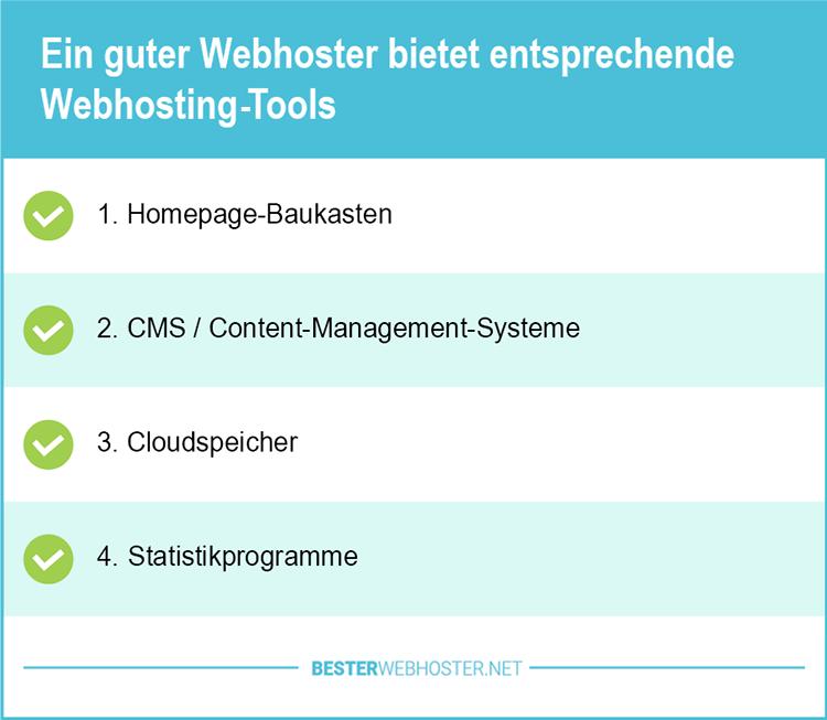 Günstige Webhosting Tools