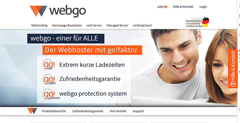 Webgo Startseite