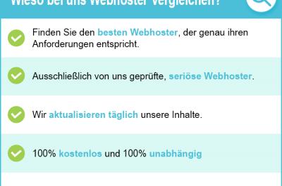 Webhoster Vergleich 2020 – hier garantiert den besten Webhoster finden