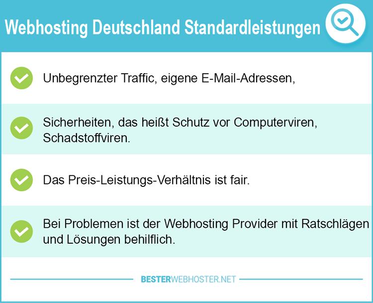 Webhosting Deutschland Test