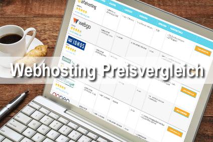 Webhosting WordPress Preisvergleich