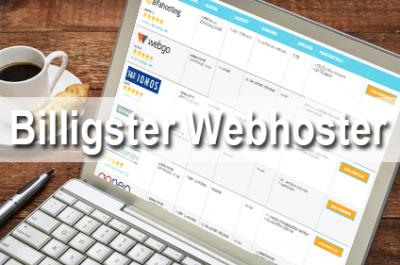 Billigster Webhoster 2020 – billige Webhosting Pakete im Vergleich