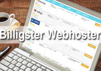 Billigster Webhoster 2019 – billige Webhosting Pakete im Vergleich