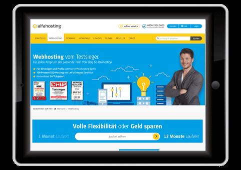Deutsche Webhoster Test