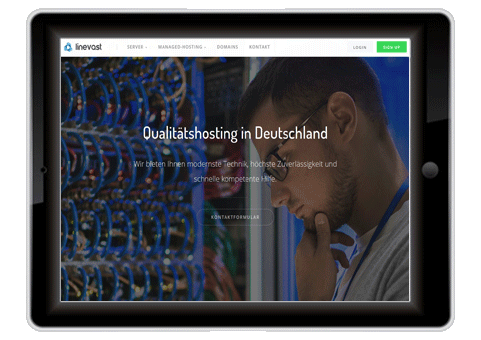 Schnellster Deutscher Webhoster