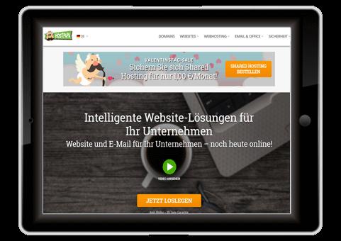 Schnellster Webhoster Deutschland