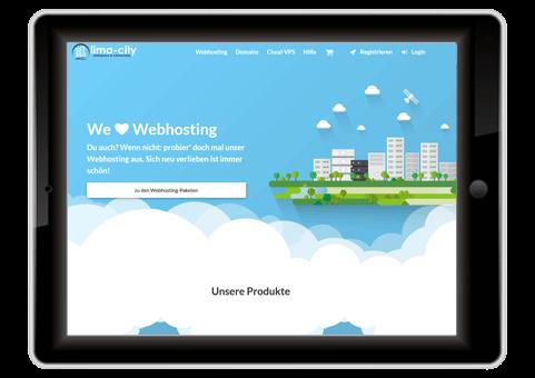 kostenloser Webhoster Lima-City