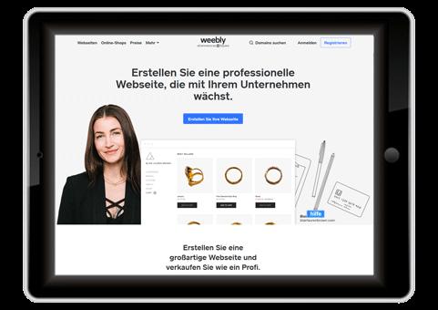 kostenloser Webhoster weebly