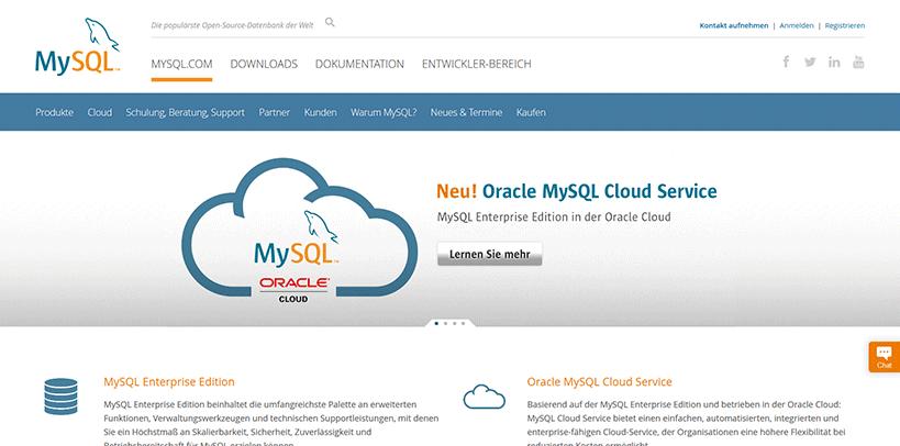 MySQL-Screenshot