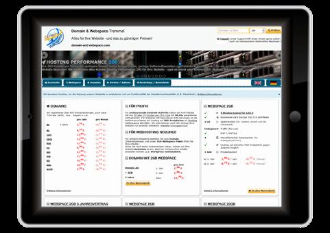 Domain Webspace Tremmel