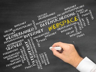 Webspace mit Domain mieten