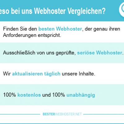 Webspace Vergleich 2019 – alle aktuellen Webhoster im Preisvergleich