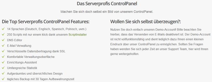 Serverprofis WordPress